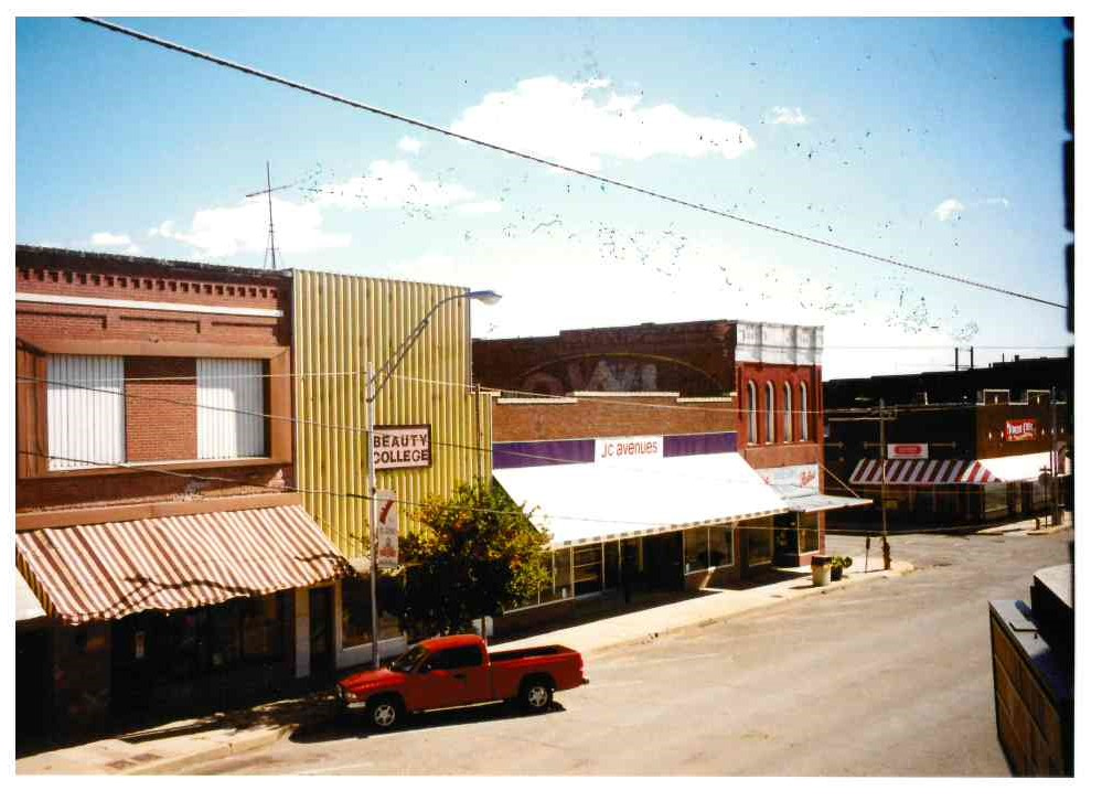 100 Block of South Bickford intersection of Bickford and Russell - Photo taken in Nov 1997