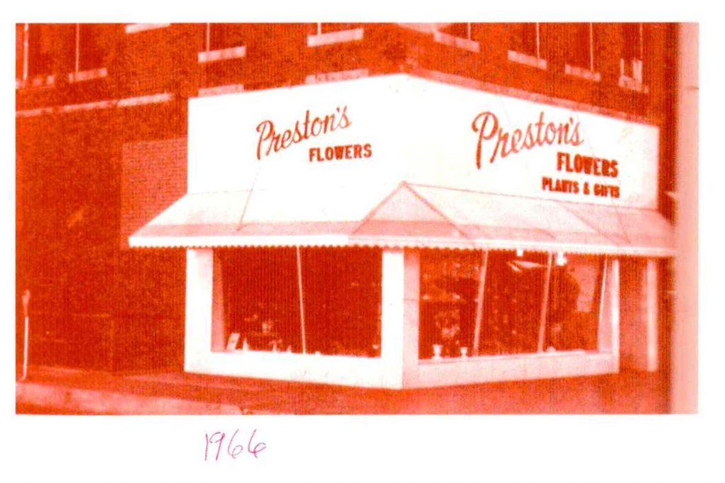 200 Block South Rock Island Prestons Flowers 1966