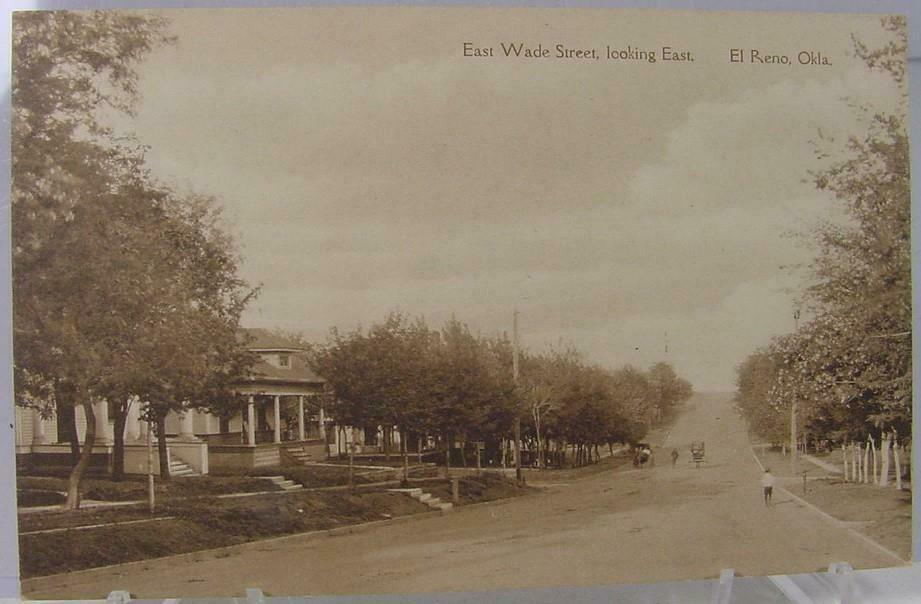 315 E Wade Looking East from Barker about 1910 Tommy Neathery Collection