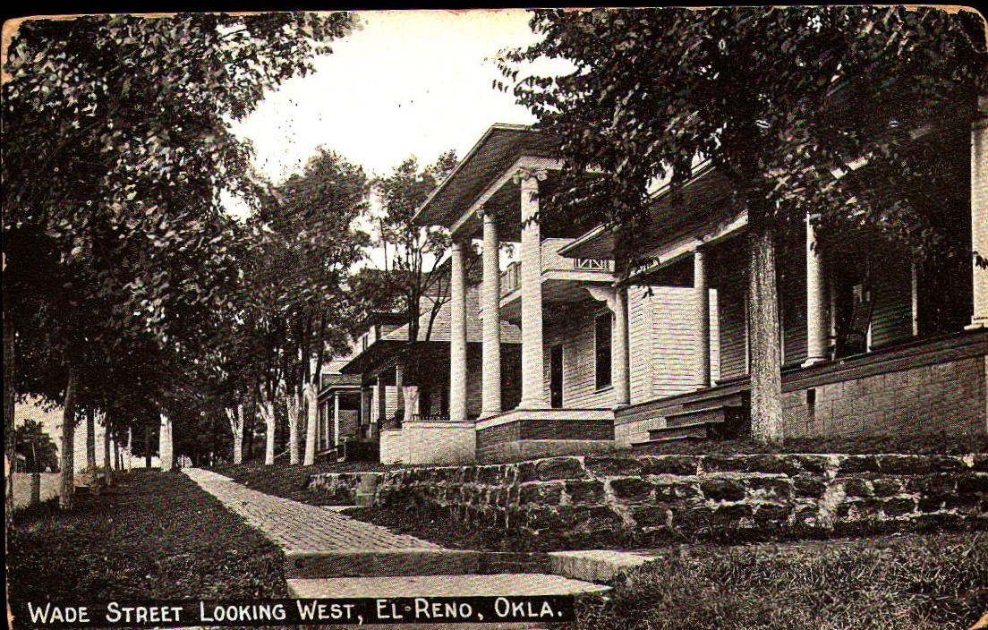 315 E Wade Street Looking West El Reno ca 1916 Tommy Neathery Collection