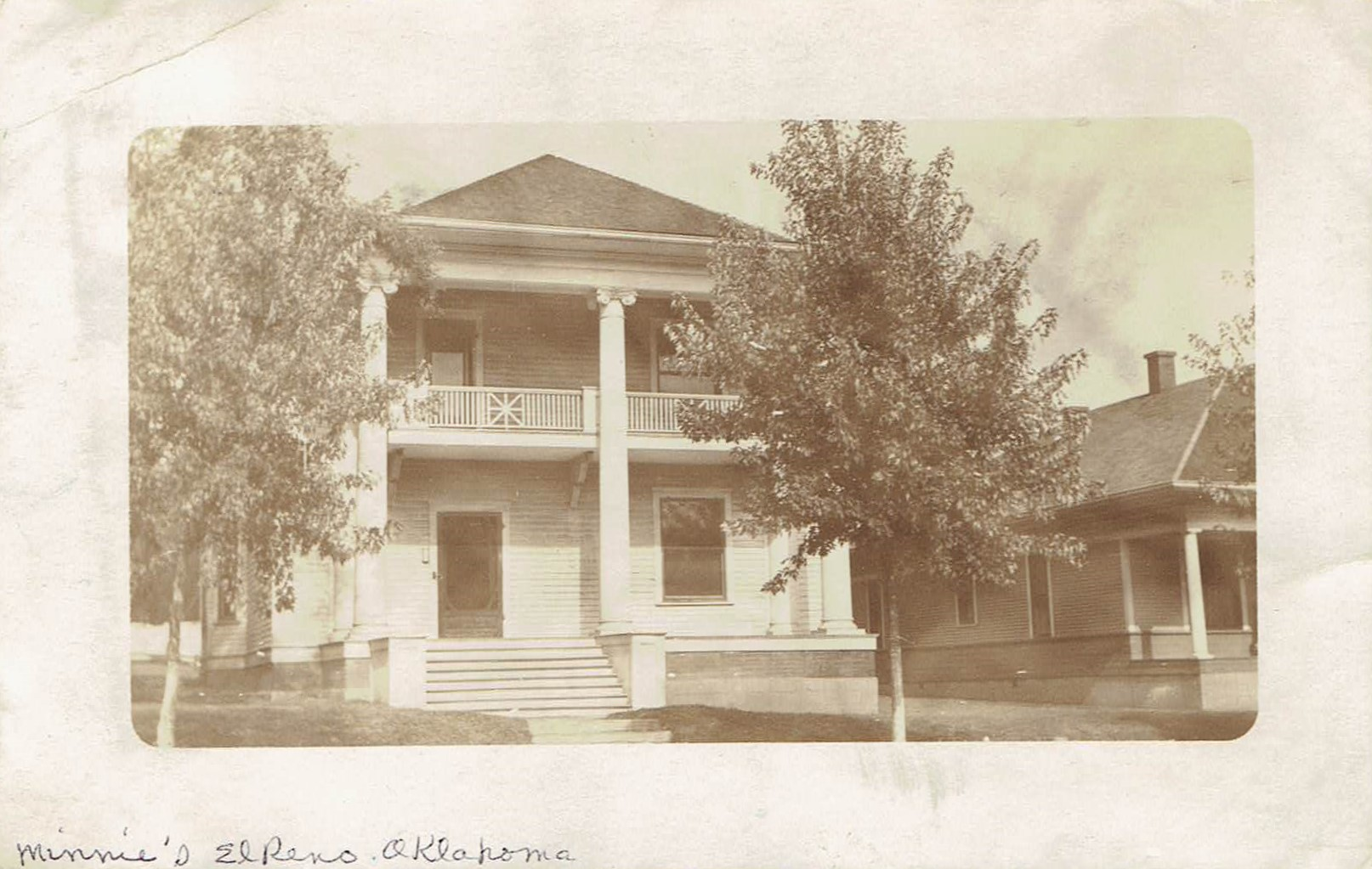 315 E Wade Street postcard 1913 Tommy Neathery Collection