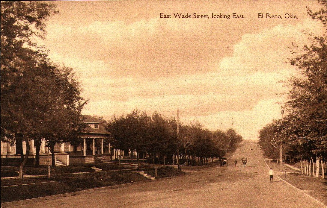 315 East Wade Street, Looking East El Reno Tommy Neathery Collection