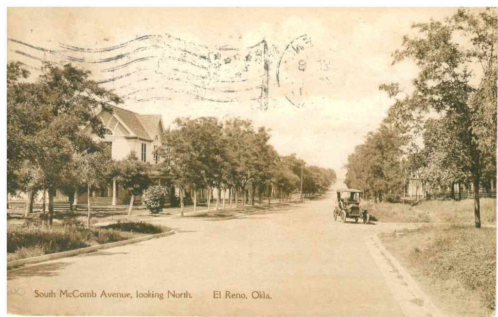 516 S Macomb looking north Postmarked December 8 1917