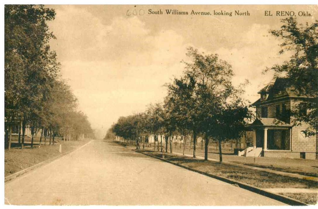 600 South Williams looking north Postmarked June 1915