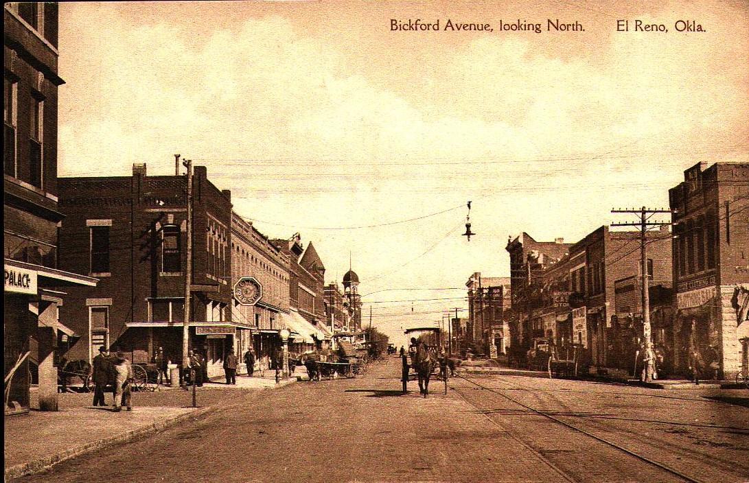 Bickford Avenue Looking North El Reno Tommy Neathery Collection