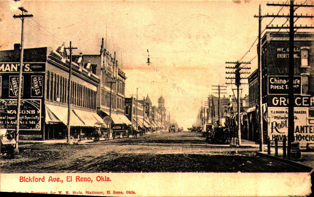 Bickford Avenue Looking North ca 1907 Tommy Neathery Collection