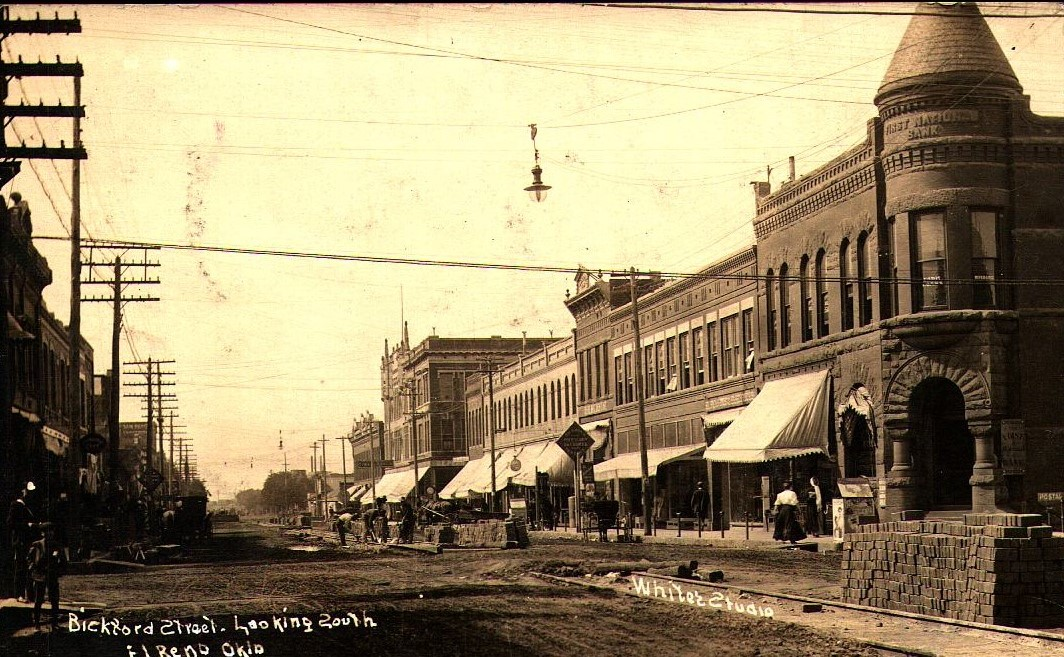 Bickford Street Looking South El Reno Tommy Neathery Collection
