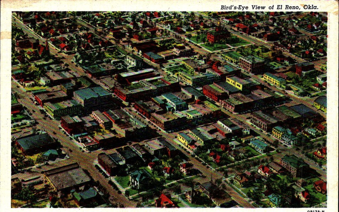 Bird's Eye View El Reno Tommy Neathery Collection