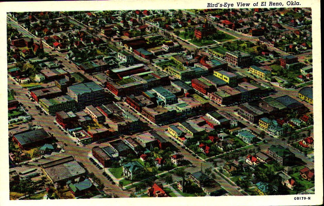 Birds Eye View El Reno Tommy Neathery Collection