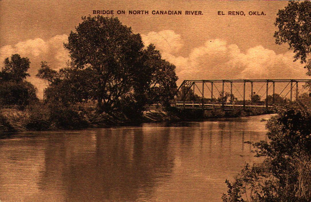 Bridge on North Canadian River El Reno Tommy Neathery Collection