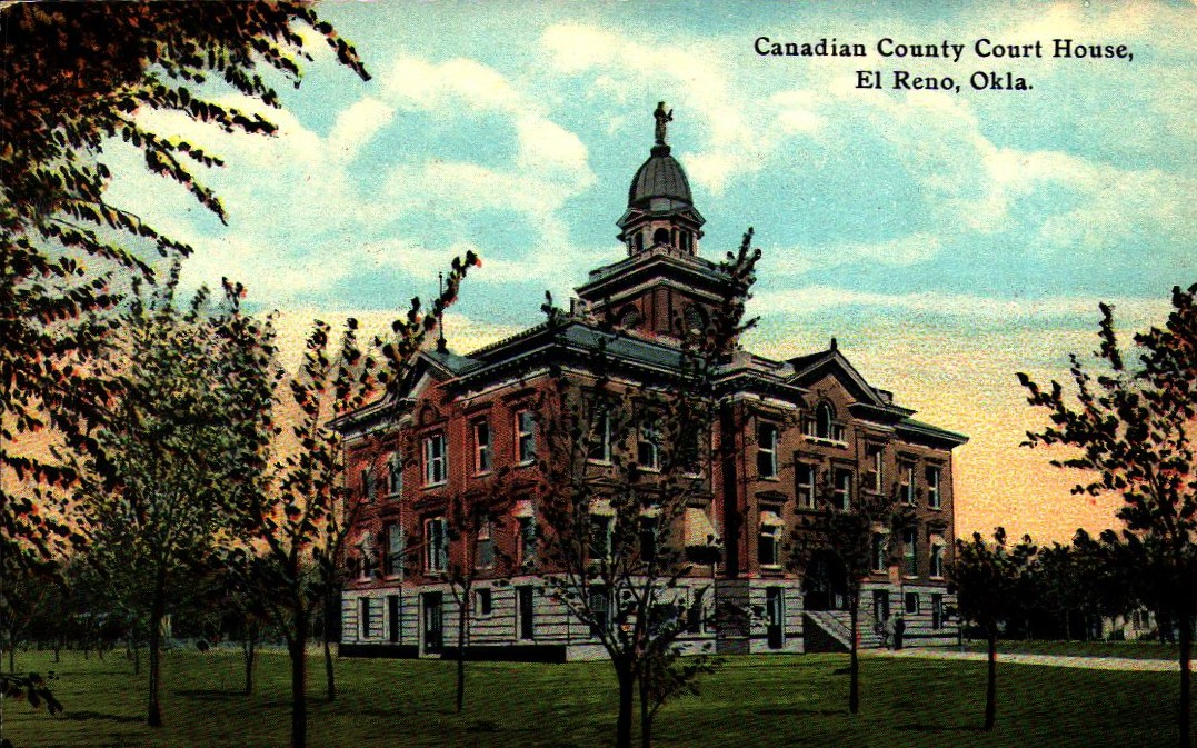 Canadian County Court House El Reno Tommy Neathery Collection