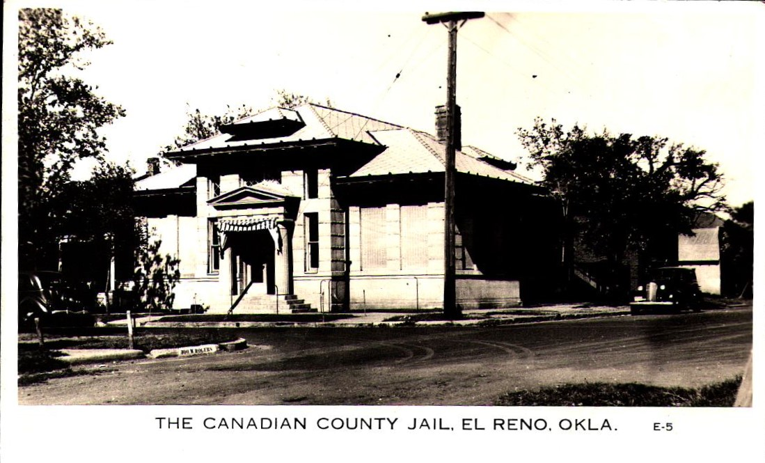 Canadian County Jail El Reno Tommy Neathery Collection