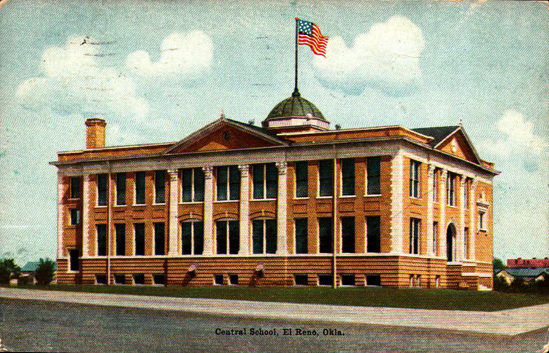 Central School El Reno ca 1910 Tommy Neathery Collection