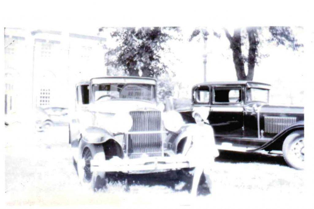 Elizabeth Cox 1920s across from Post Office