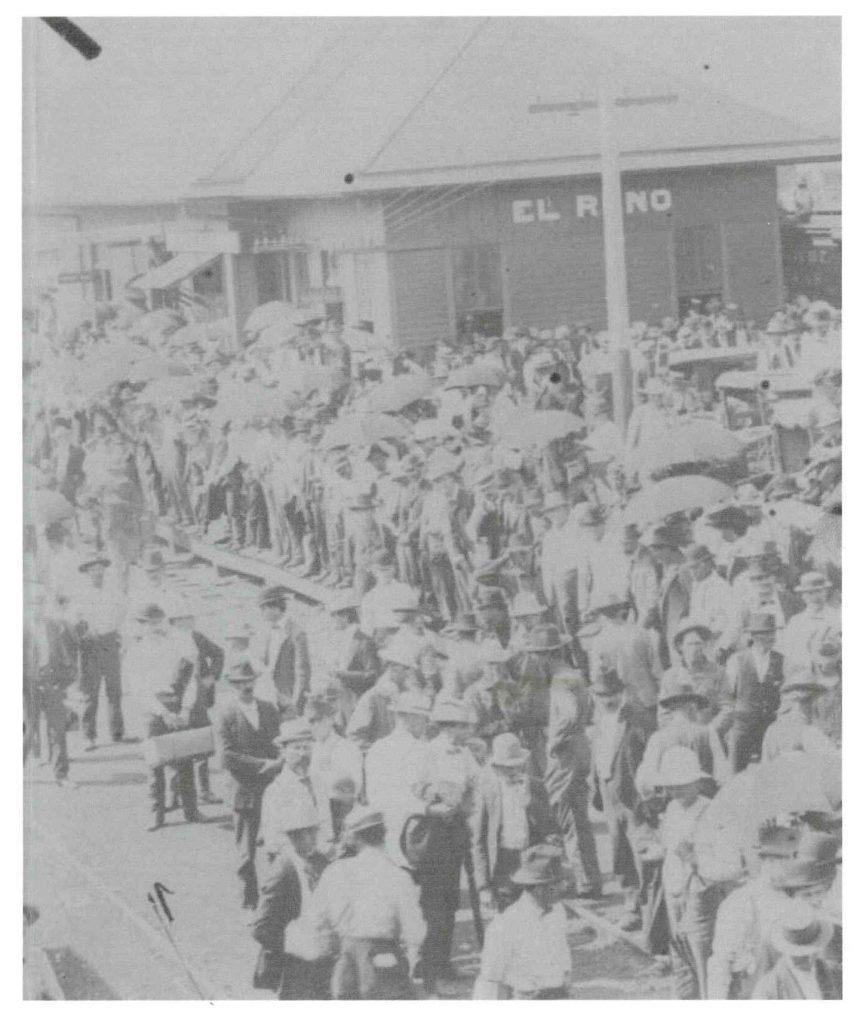 Depot Land Lottery El Reno 1901