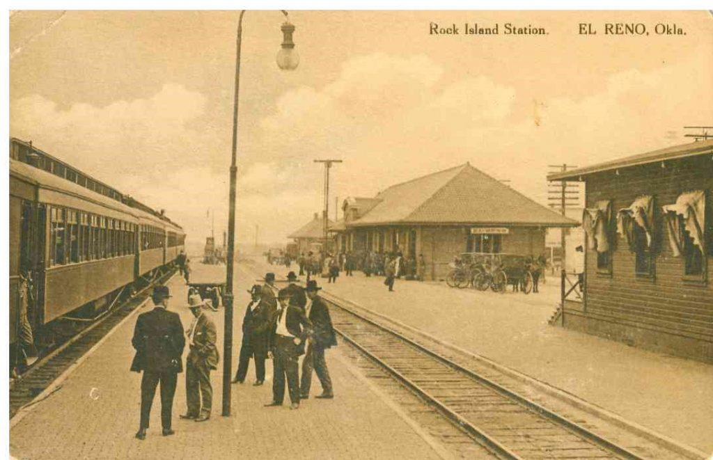 Depot Picture taken in 1910