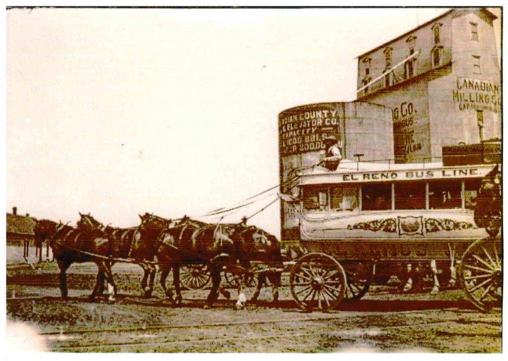 El Reno Bus Line at Canadian County Mill