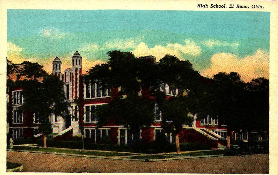 El Reno High School mailed 1952 Tommy Neathery Collection