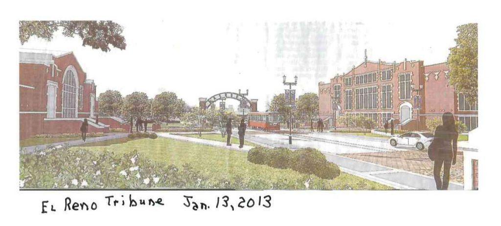 El Reno High School rendering ER Tribune photo Jan 13 2013