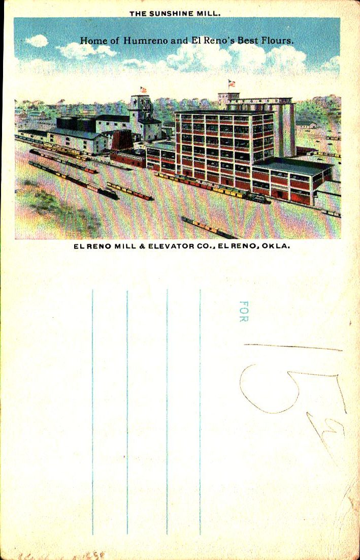 El Reno Mill and Elevator Company Home of Humreno Tommy Neathery Collection