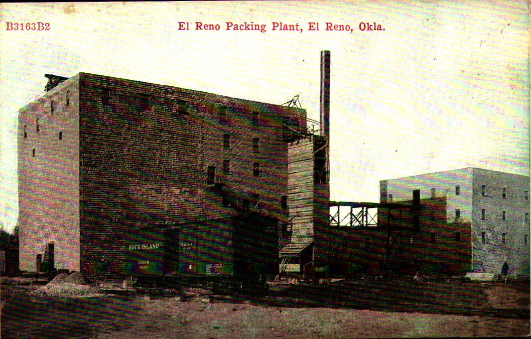 El Reno Packing Plant ca 1910 Tommy Neathery Collection