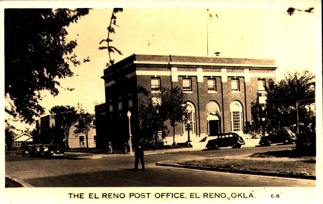 El Reno Post Office Tommy Neathery Collection