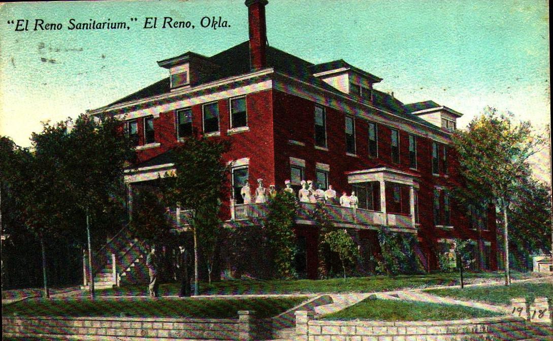 El Reno Sanitarium ca 1918 Tommy Neathery Collection