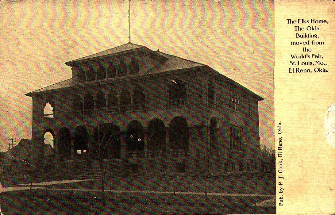 Elks Lodge El Reno 1907 Tommy Neathery Collection