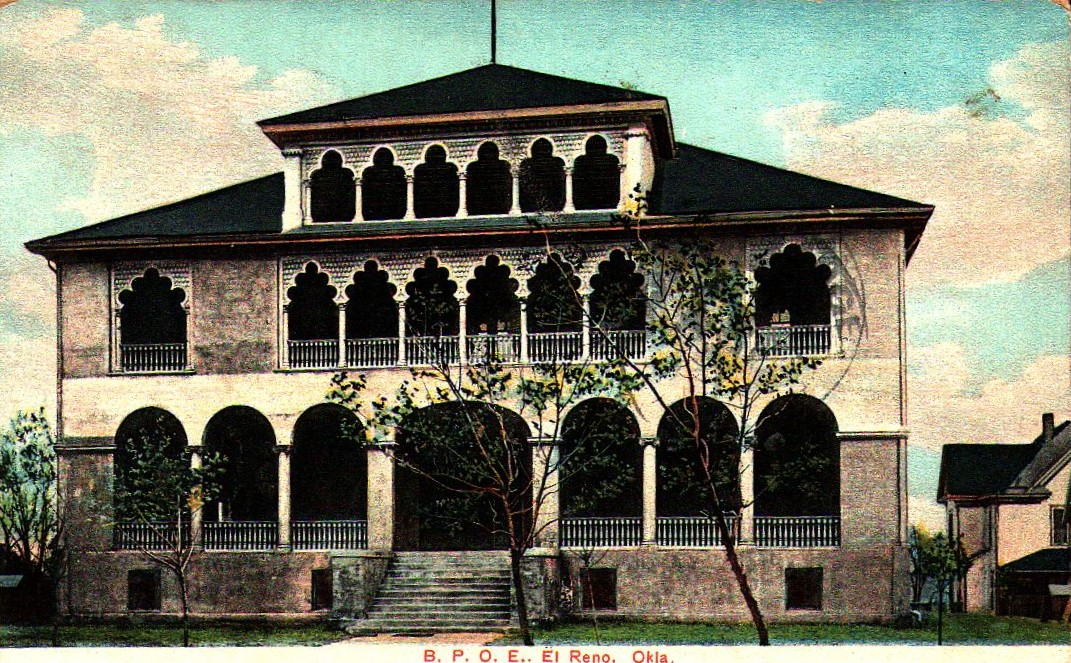 Elks Lodge El Reno ca 1908 Tommy Neathery Collection
