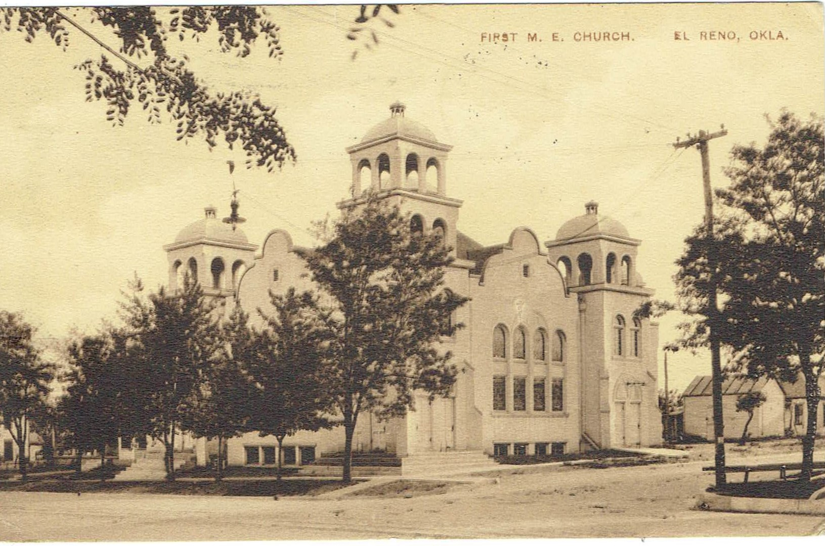 First Methodist Episcopal Church 1914 Tommy Neathery Collection