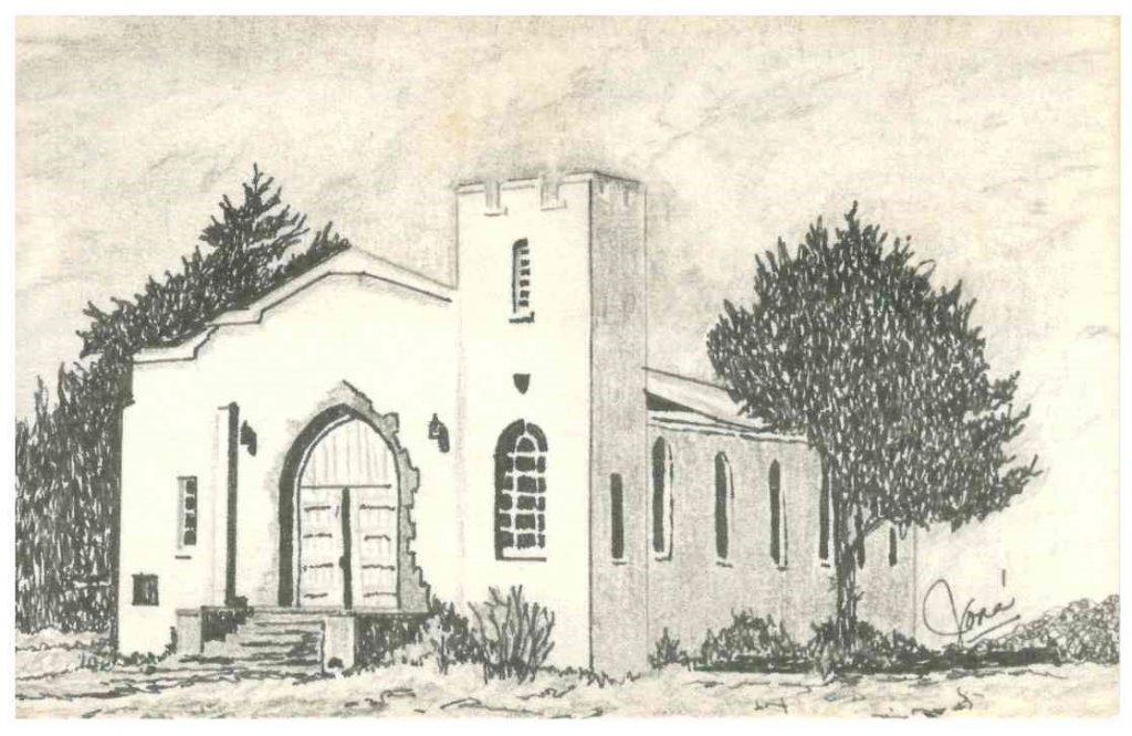 Fort Reno Chapel by Jone