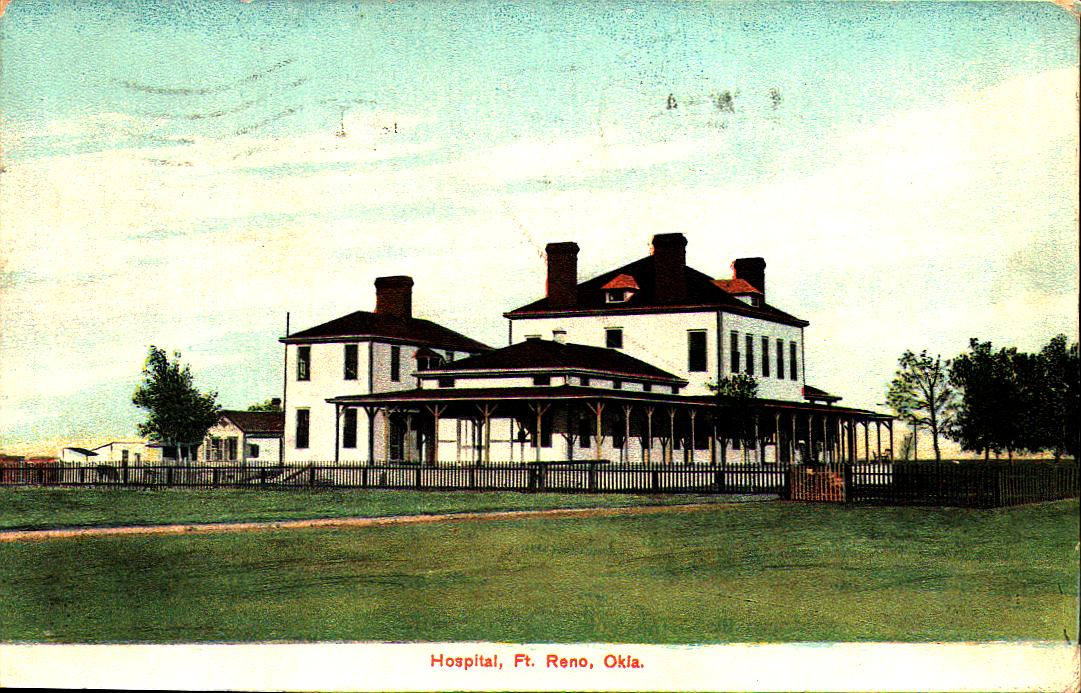 Fort Reno Hospital ca 1909 Tommy Neathery Collection