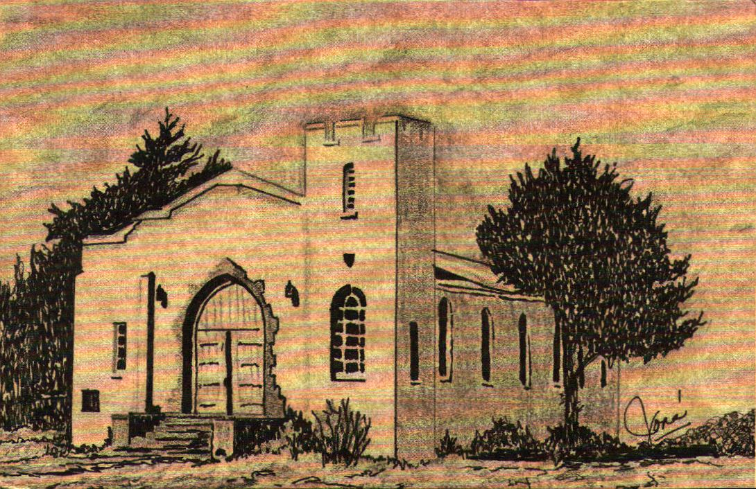 Fort Reno Post Chapel by Jone Tommy Neathery Collection