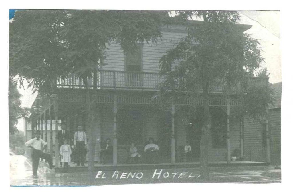 Hotel El Reno Photo about 1909