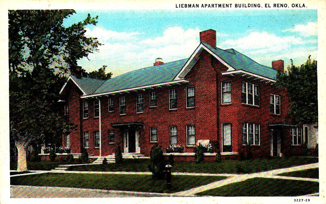 Liebmann Apartment Building El Reno Tommy Neathery Collection