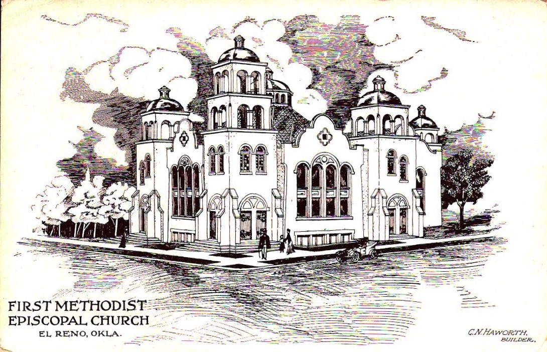 ME First Methodist Episcopal Church El Reno Tommy Neathery Collection