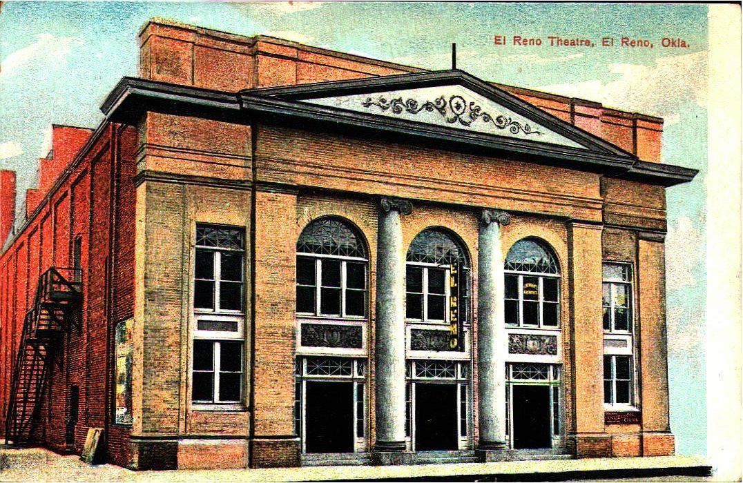 Opera House - El Reno Theatre Tommy Neathery Collection