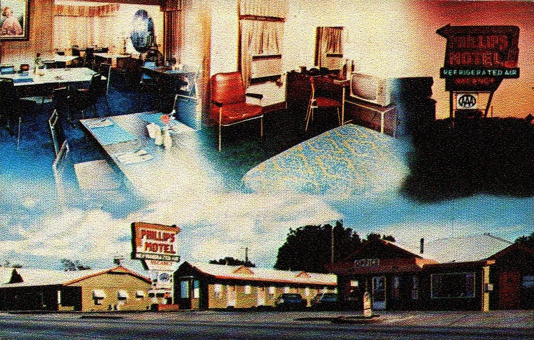 Phillips Motel El Reno Tommy Neathery Collection