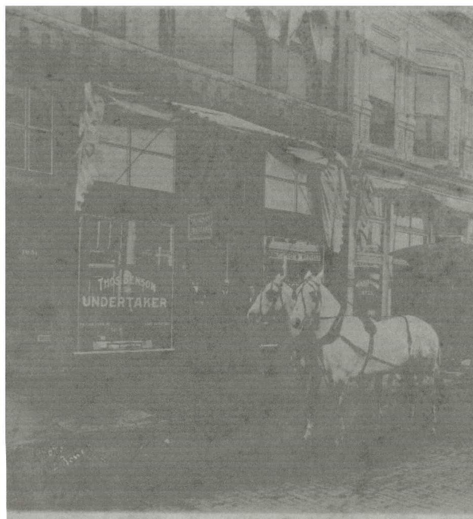 Photo taken about 1905 El Reno