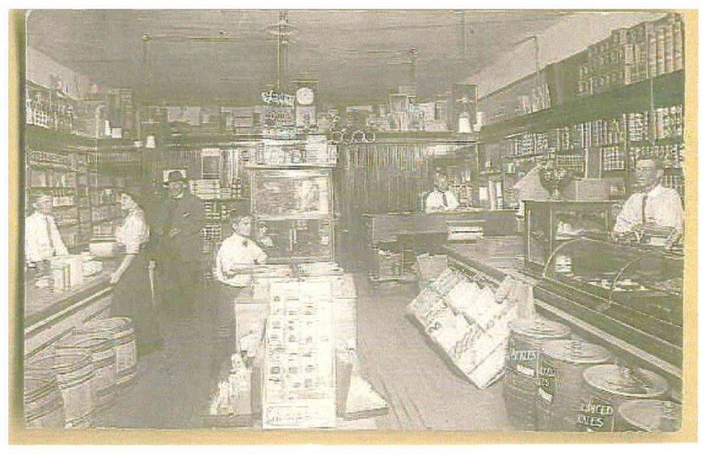 Postmarked October 9 1913 Store Interior El Reno