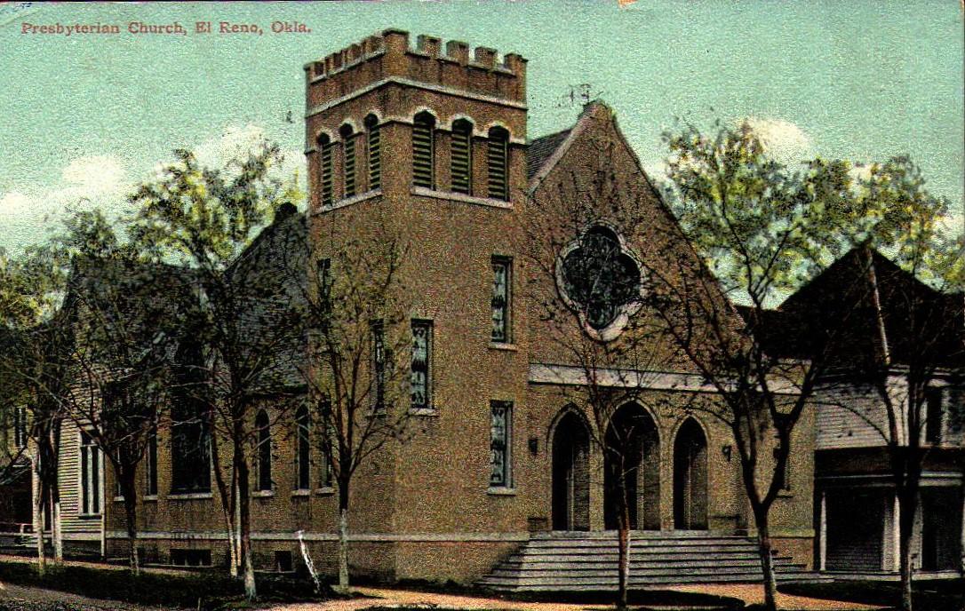 Presbyterian Church El Reno ca 1909 Tommy Neathery Collection