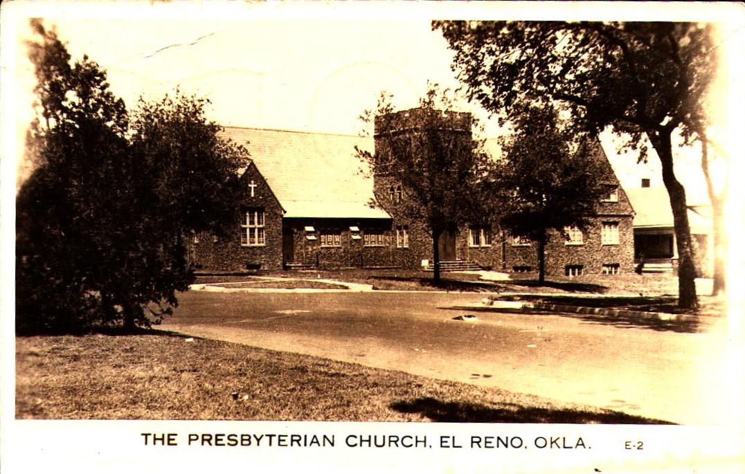 Presbyterian Church El Reno ca 1942 Tommy Neathery Collection
