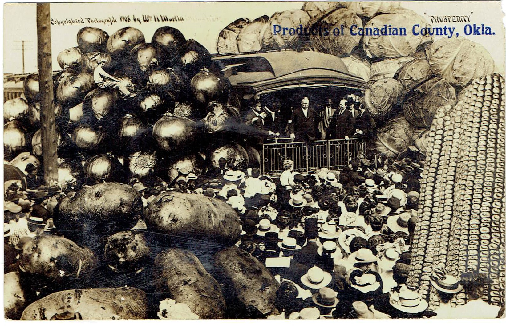 Products of Canadian County ca 1915 Tommy Neathery Collection