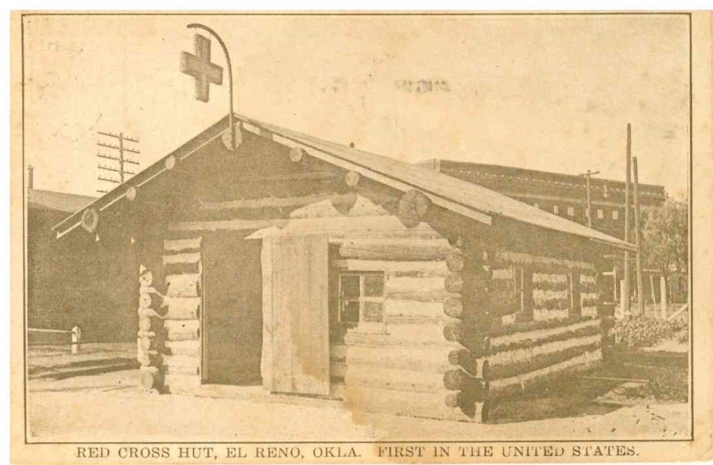 Red Cross Hut Postmarked August 19 1918