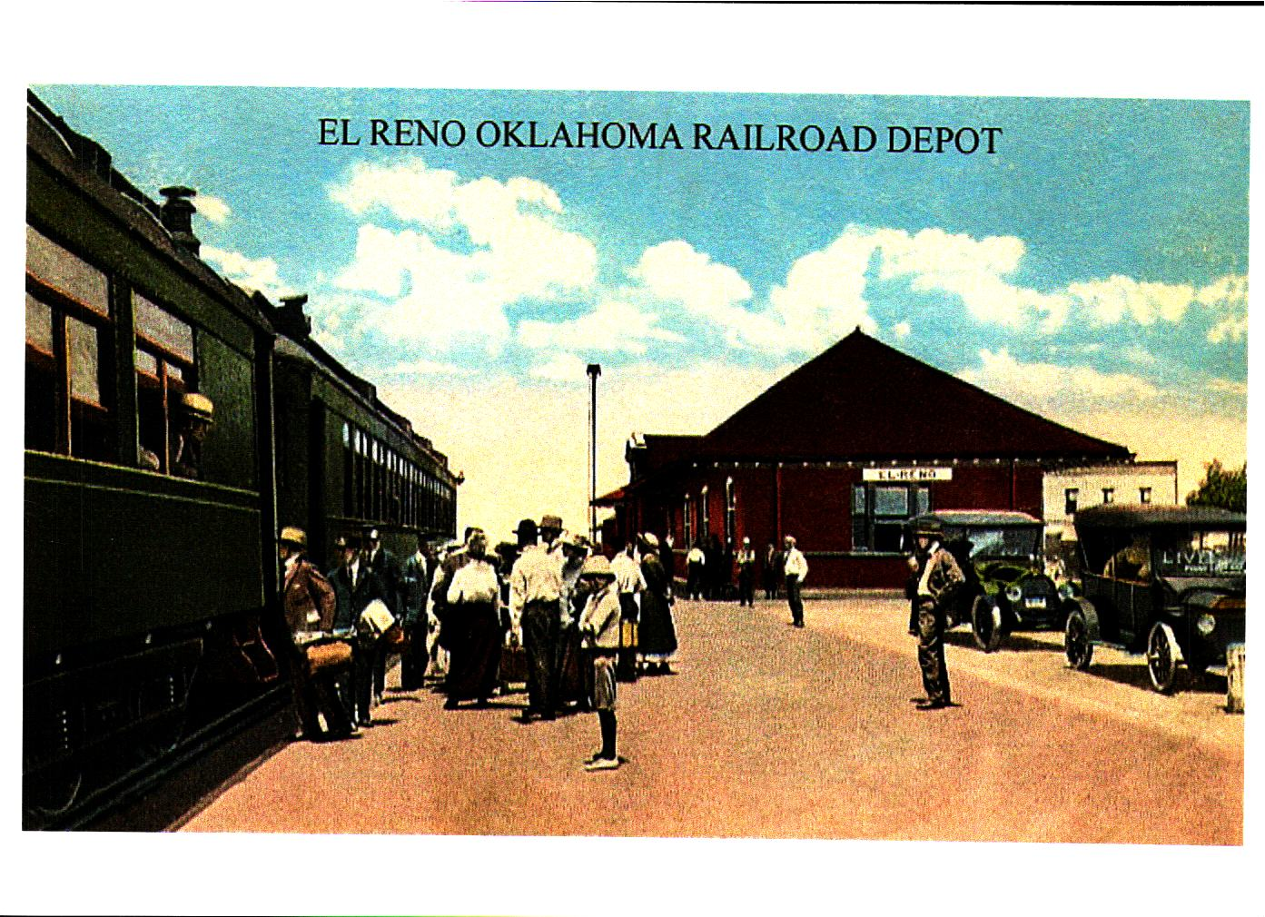 Rock Island Depot El Reno Tommy Neathery Collection