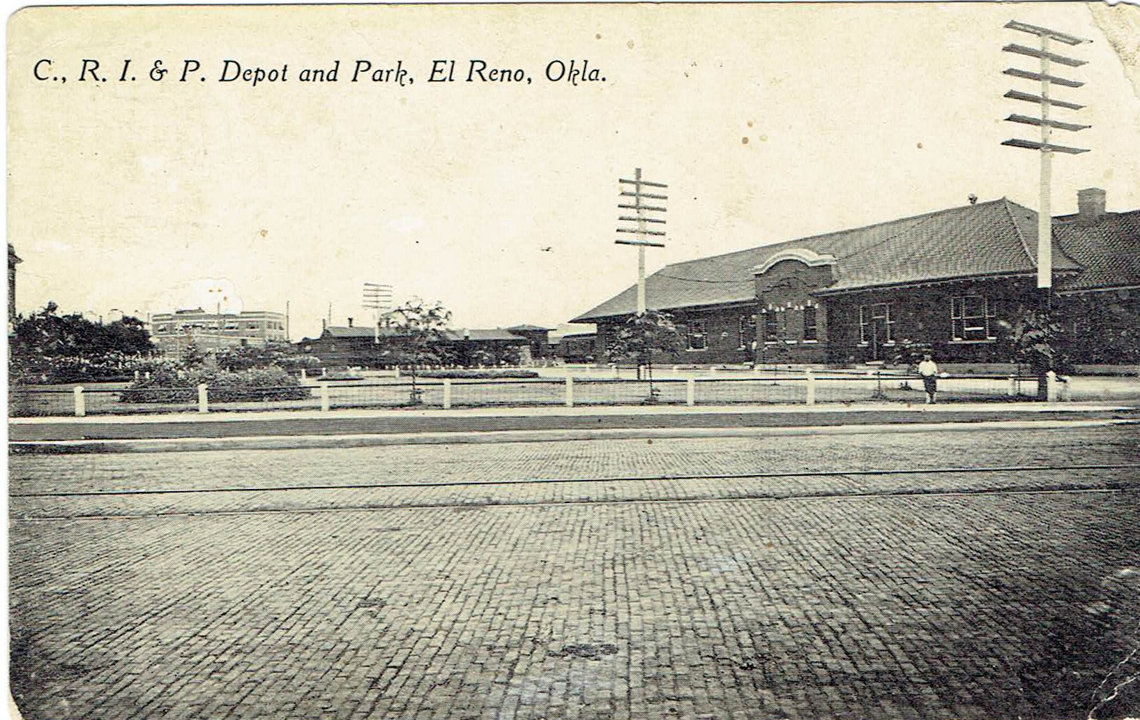 Rock Island Depot and Park Tommy Neathery Collection