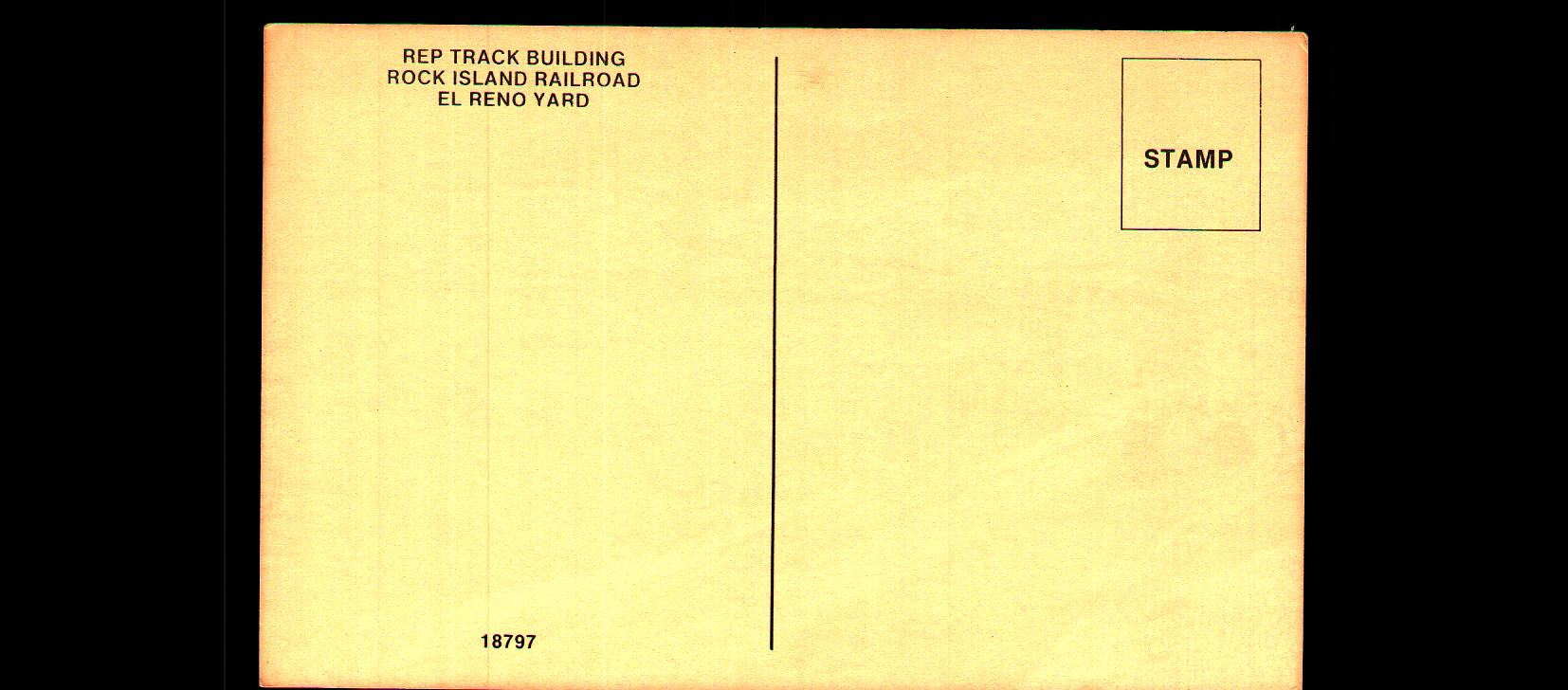 Rock Island Shops drawing by Jone El Reno back Tommy Neathery Collection