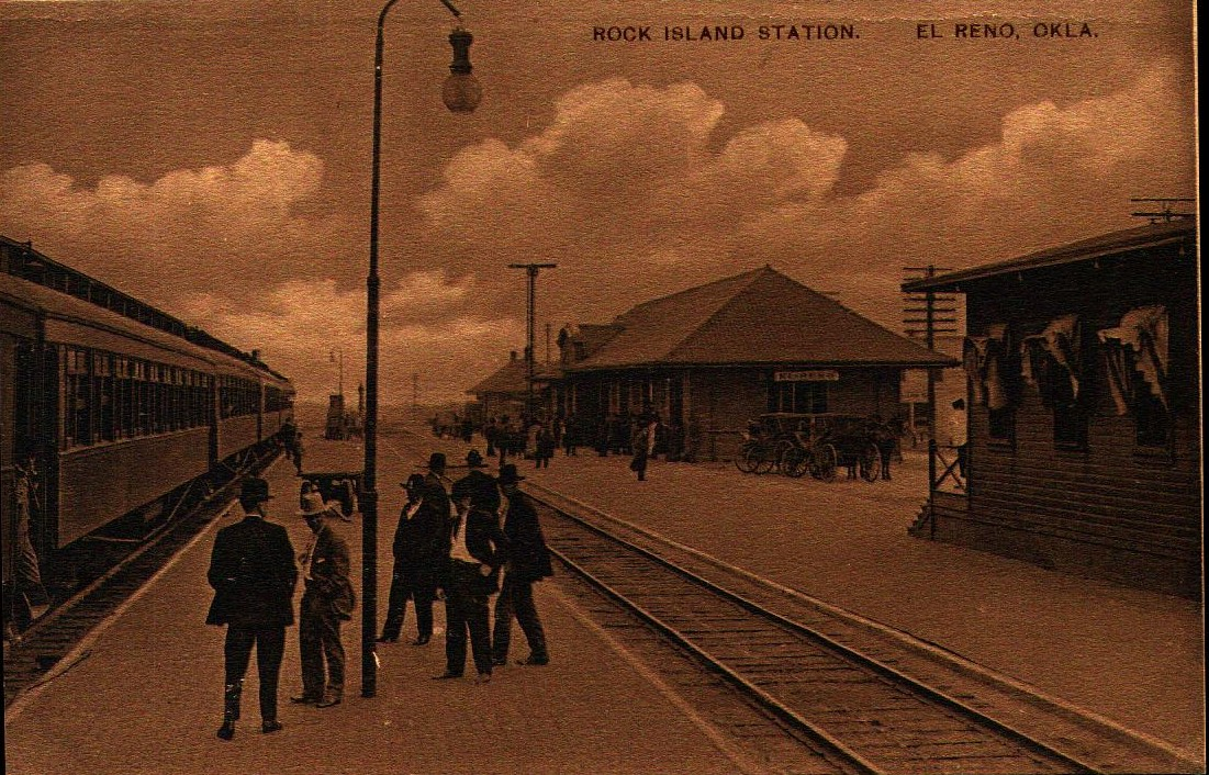 Rock Island Station El Reno Tommy Neathery Collection