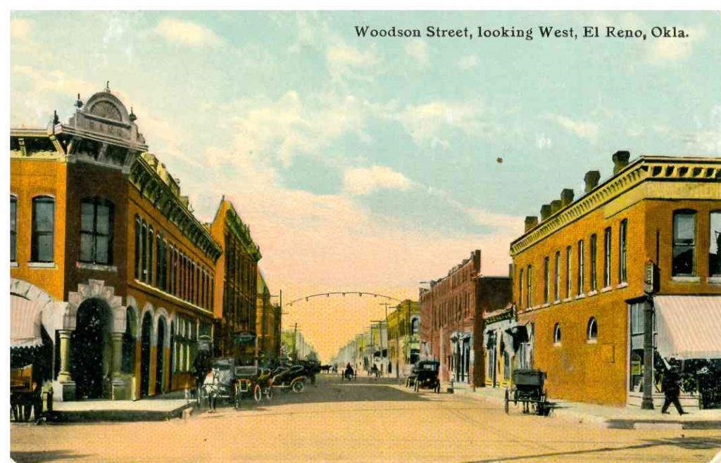 Rock Island and Russell looking west Postmarked February 18 1913