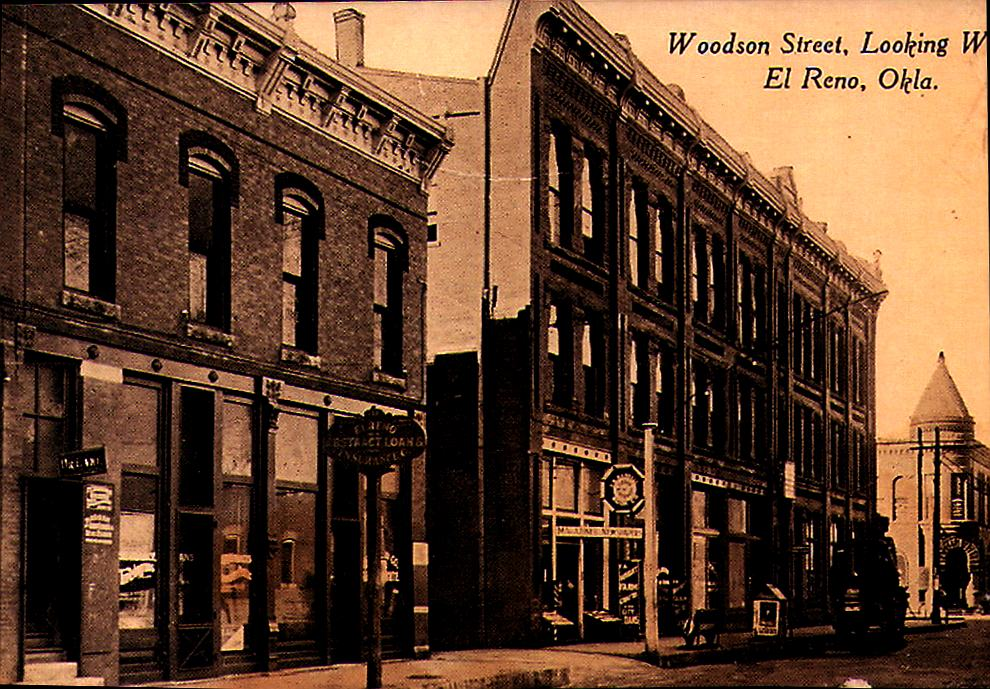 Woodson Street Looking West El Reno Tommy Neathery Collection